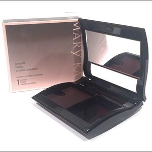 MARY KAY MAGNETIC BLACK COMPACT~UNFILLED~